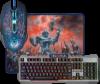 Игровой набор Killing Storm MKP-013L RU, мышь+клавиатура+ковер