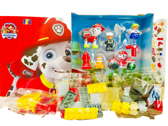 Конструктор Лего Щенячий патруль с героем Маршалом