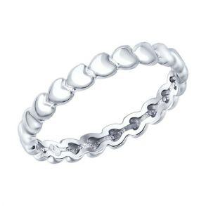 Кольцо из серебра 94012108  SOKOLOV