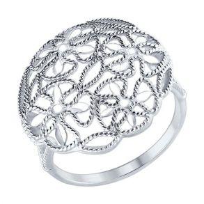 Кольцо из серебра 94012226 SOKOLOV
