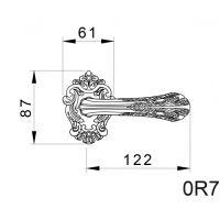 Ручка Mestre 0R7424.схема
