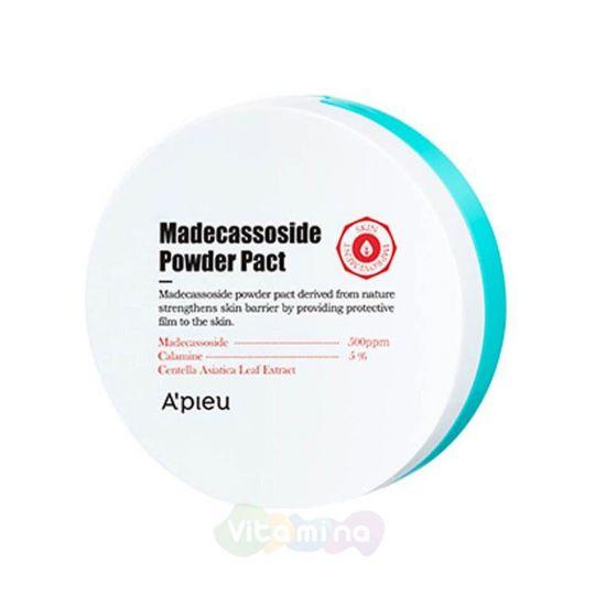 A'Pieu Компактная пудра с мадекасоссидом Madecassoside Powder Pact, 6 мл