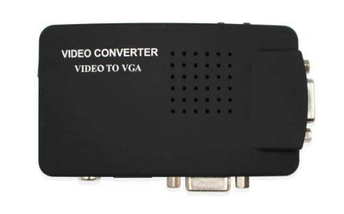 Конвертер RCA-Video S-Video to VGA