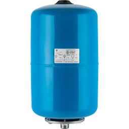 Расширительный бак 20 л., гидроаккумулятор вертикальный (цвет синий)