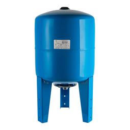 Расширительный бак 50 л., гидроаккумулятор вертикальный (цвет синий)
