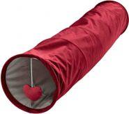 Hunter Туннель для кошек (красный) 27x60 см