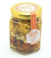 Ассорти орехи в меду 200г, BelloHoney