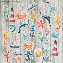 """Высечки """"Sea party"""""""