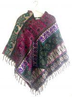 Красивое теплое женское пончо. Купить в Москве в интернет магазине
