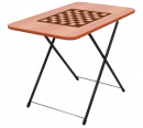 Стол туриста игровой складной с шахмат. сетк.ТСТИ