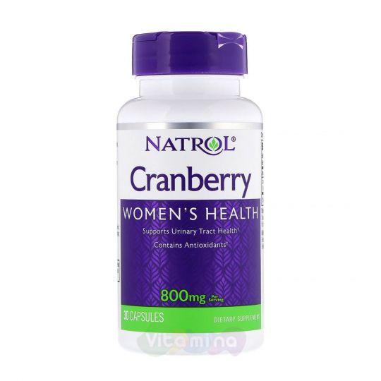 Natrol Клюква Cranberry 800 мг, 30 капс.