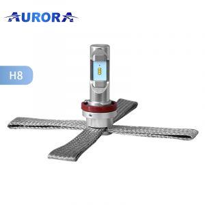 Светодиодные лампы Aurora цоколь H11 8000Лм комплект 2 шт.