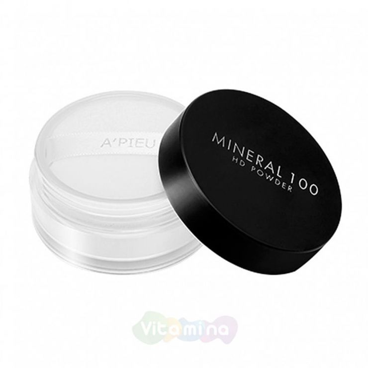 A'Pieu Минеральная финишная пудра Mineral 100 HD Powder, 5,5 г