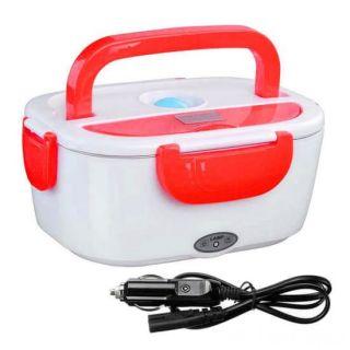 Электрический Ланч-Бокс с подогревом для авто, Цвет: Красный