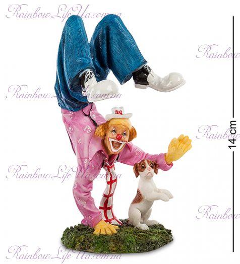 """Статуэтка клоун с собачкой """"Veronesе"""""""