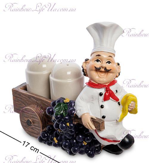 """Фигурка повар с солонкой и перечницей """"HF"""""""