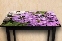 Наклейка на стол - Рододендрон | фотопечать на стол в магазине Интерьерные наклейки