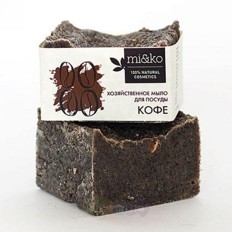 Mi&Ko Хозяйственное мыло для посуды Кофе, 175 г