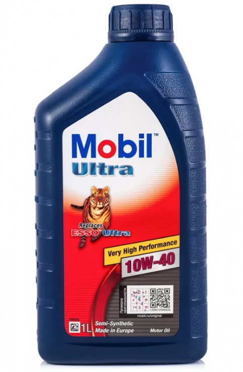 Масло моторное Mobil Ultra 10W40 1 л