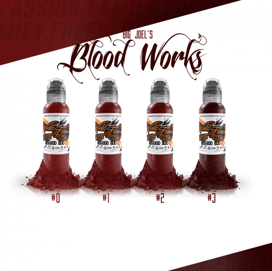 World Famous Ink Blood Wash Set - Big Joel