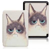 Обложка на Kindle Paperwhite 2018 ( рисунок / grumpy cat)