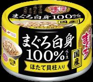 "Aixia Yaizu-no-Maguro White Meat 100% Консерва для кошек ""Тунец и гребешок в нежном желе"" 70г."
