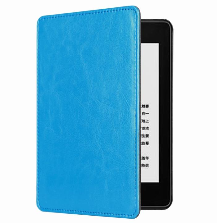Обложка на Kindle Paperwhite 2018 ( Голубой )