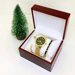 Часы и браслеты Michael Kors - женский подарочный набор ( № 2)