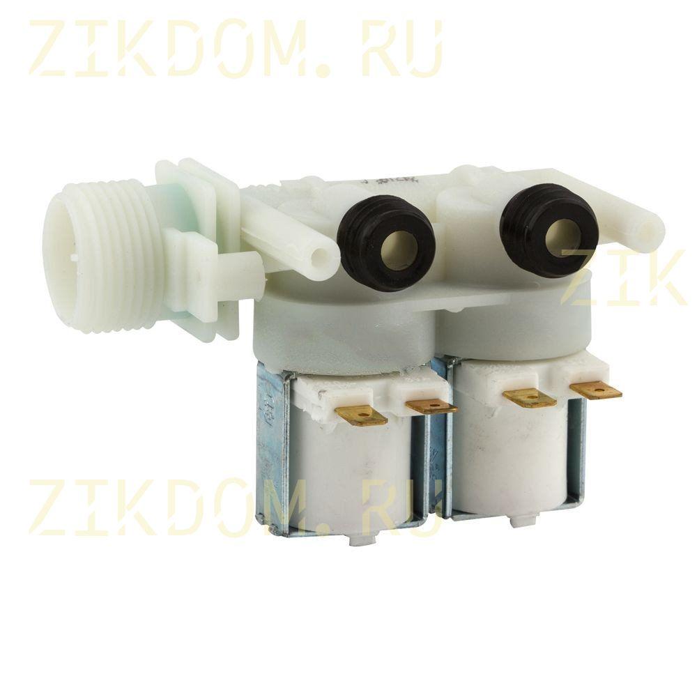 Клапан стиральной машины двойной прямой Indesit Ariston C00066518