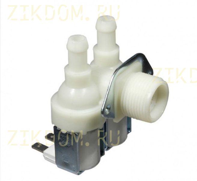 Клапан стиральной машины универсальный двойной угловой Bitron