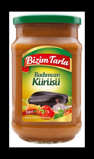 Икра баклажанная «BIZIM TARLA» 300 гр