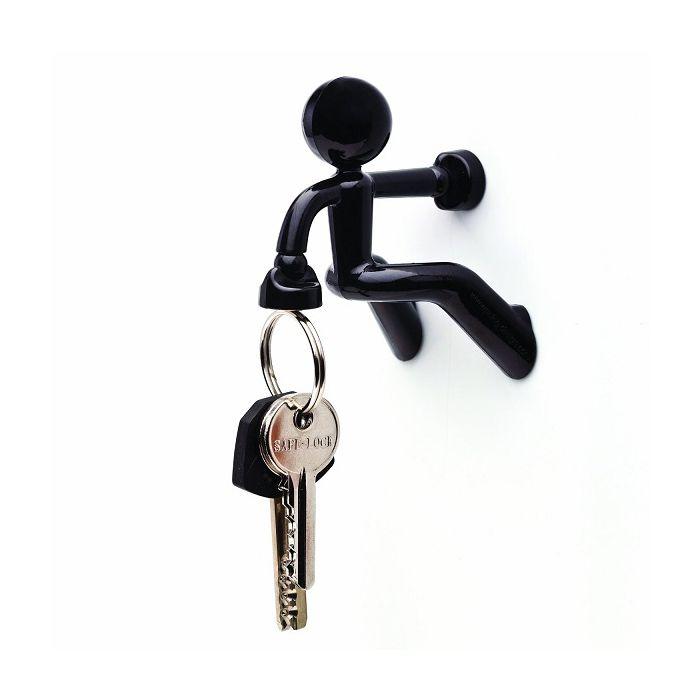 Магнитный Держатель Ключей The Magnetic Man, Цвет Черный