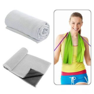 Охлаждающее полотенце Chill Mate Instant Cooling Towel, Белый