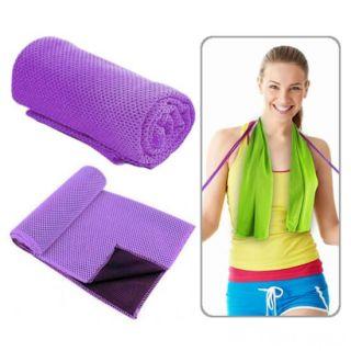 Охлаждающее полотенце Chill Mate Instant Cooling Towel, Фиолетовый
