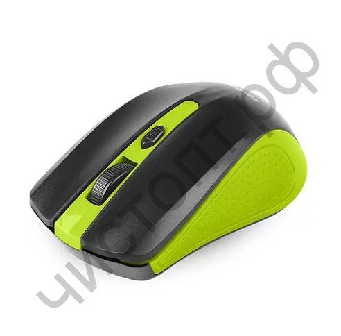 Мышь беспроводн. Smartbuy ONE 352 зелено-черная (SBM-352AG-GK) блистер