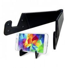 Раскладной держатель для смартфона и планшета, Цвет: Чёрный