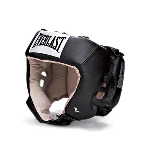 Шлем боксёрский Everlast USA Boxing черный, р. S,  артикул 610001U