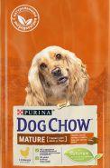 DOG CHOW Mature Adult Chicken Корм для собак старшего возраста (5-9 лет) с курицей (2,5 кг)