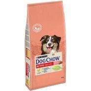 DOG CHOW Active Корм для взрослых активных собак с курицей (14 кг)