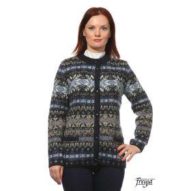 Кардиган женский на пуговицах вязаный из Исландской шерсти 05236-28