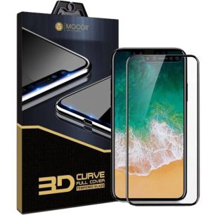 Стекло 3D iPhone X Mocoll