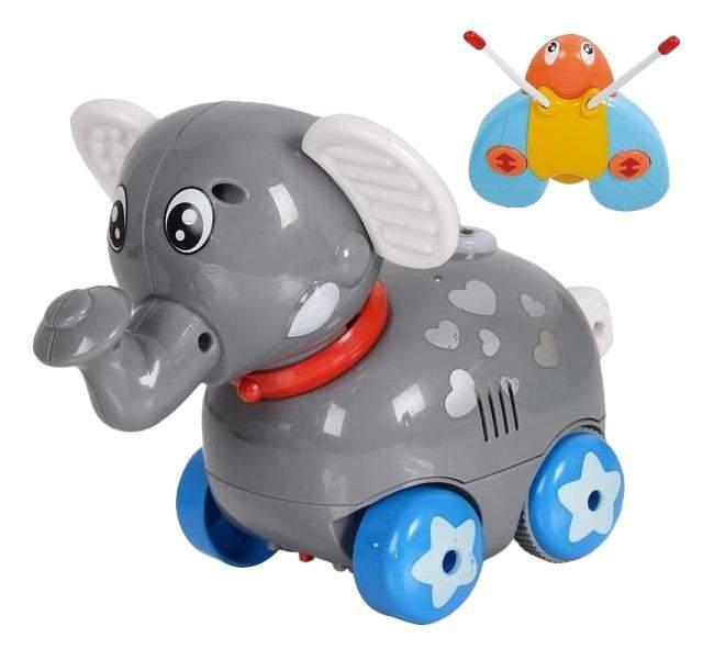 Zhorya музыкальный друг, слон, на р/у, свет-звук