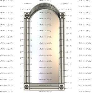 Зеркало Патиния, мод. 49 МДФ