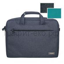 Сумка для ноутбука Portobello Migliores серый/бирюза 355х425х60мм B79718021-080