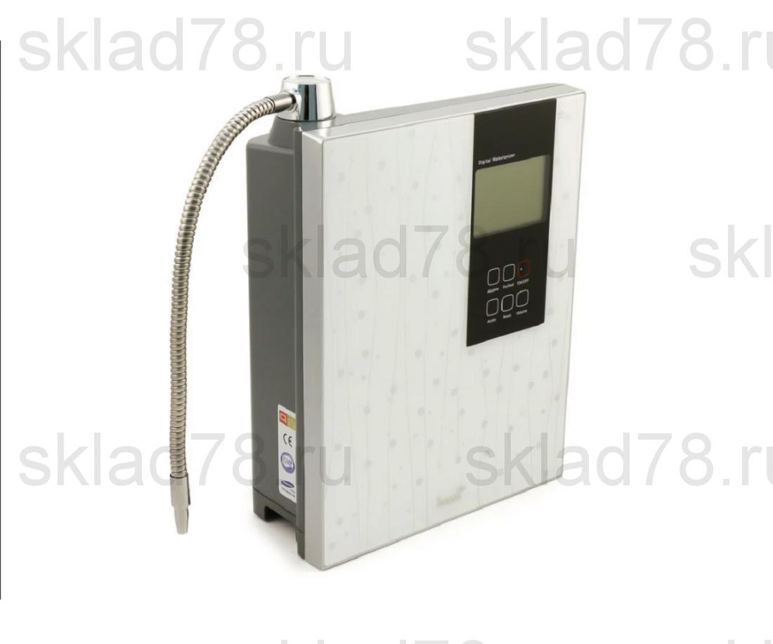Ионизатор воды ION-7400 белый (9 титано-платиновых пластин)