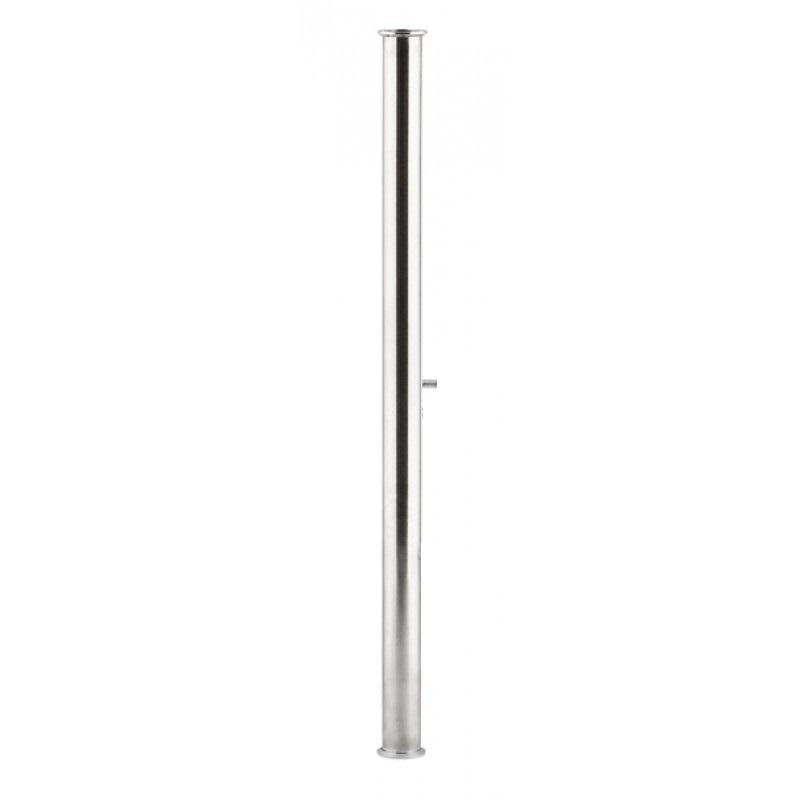 Царга под кламп 1,5 дюйма, с выходом под термометр, 600 мм