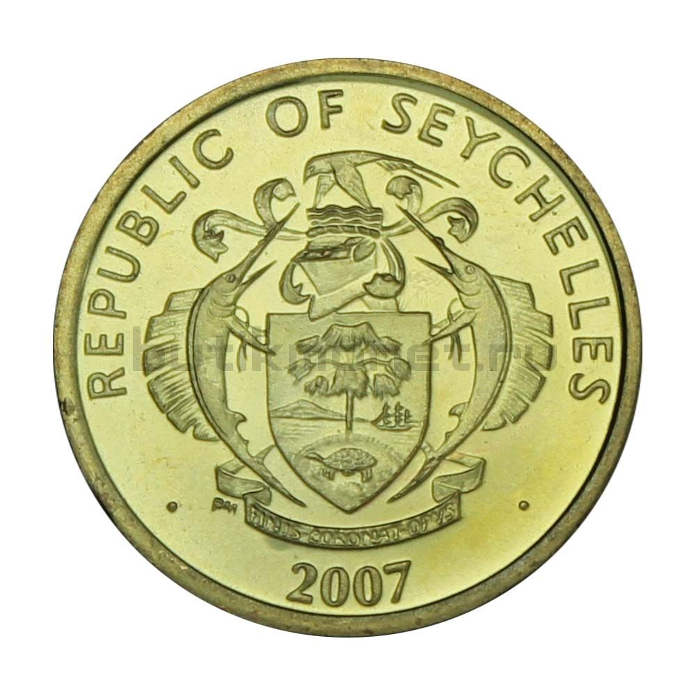 10 центов 2007 Сейшелы