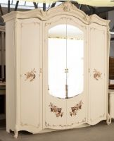 Шкаф 4-х дверный с зеркалами Альба Диа Мебель (219х66х237)