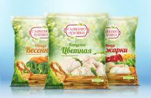 Овощи для жарки 400г Славкино лукошко