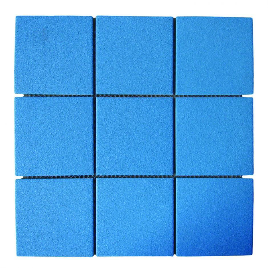 Керамическая мозаика AquaViva CS4298 противоскользящая голубая